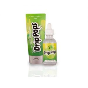Drip Pops Sour Apple 60mL