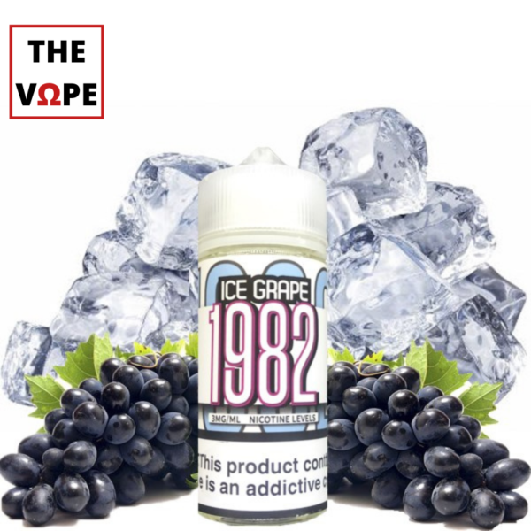 Ice Grape 1982 100ml Nho Lạnh